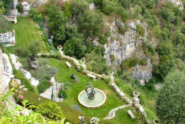 Les jardins de l'hôtel de la Chèvre d'Or © M.Strīķis - licence [CC BY-SA 3.0] from Wikimedia Commons