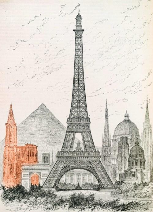 La cathédrale de Strasbourg et les plus hauts monuments du monde