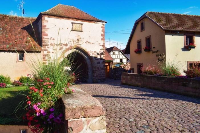 Portes fortifiées d'Alsace - Porte de la Bruche à Dachstein © French Moments