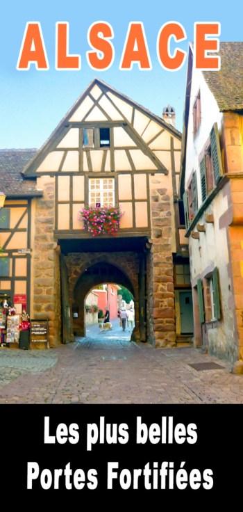 Portes Fortifiées d'Alsace pour Pinterest © French Moments