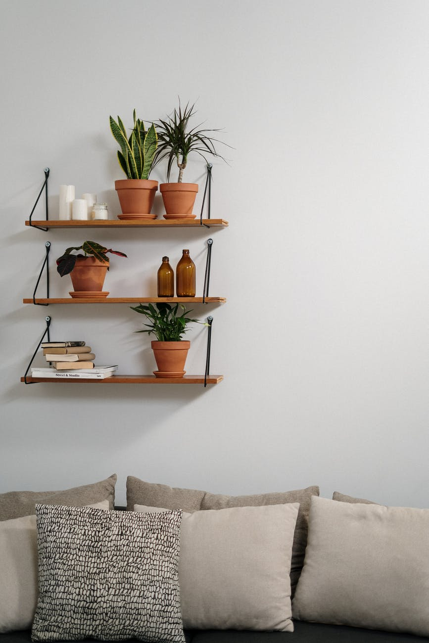 brown wooden wall rack with brown wooden wall mounted rack