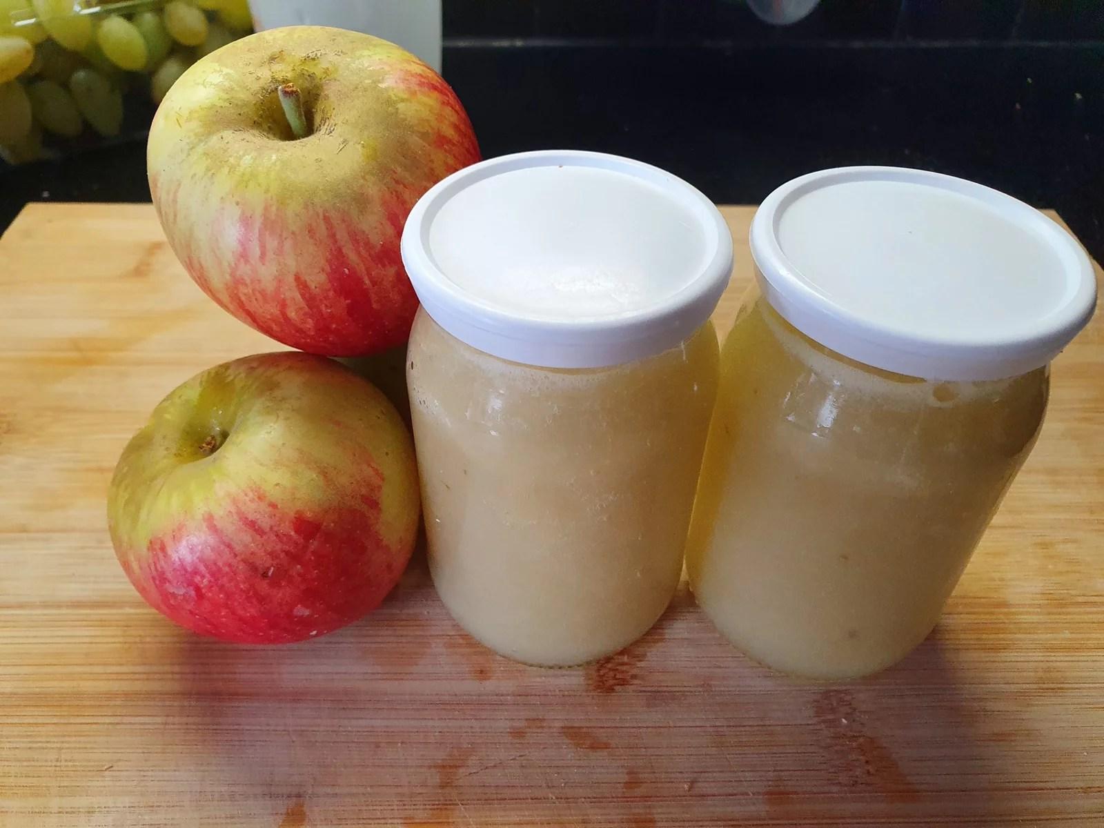 La compote de pomme, recette facile