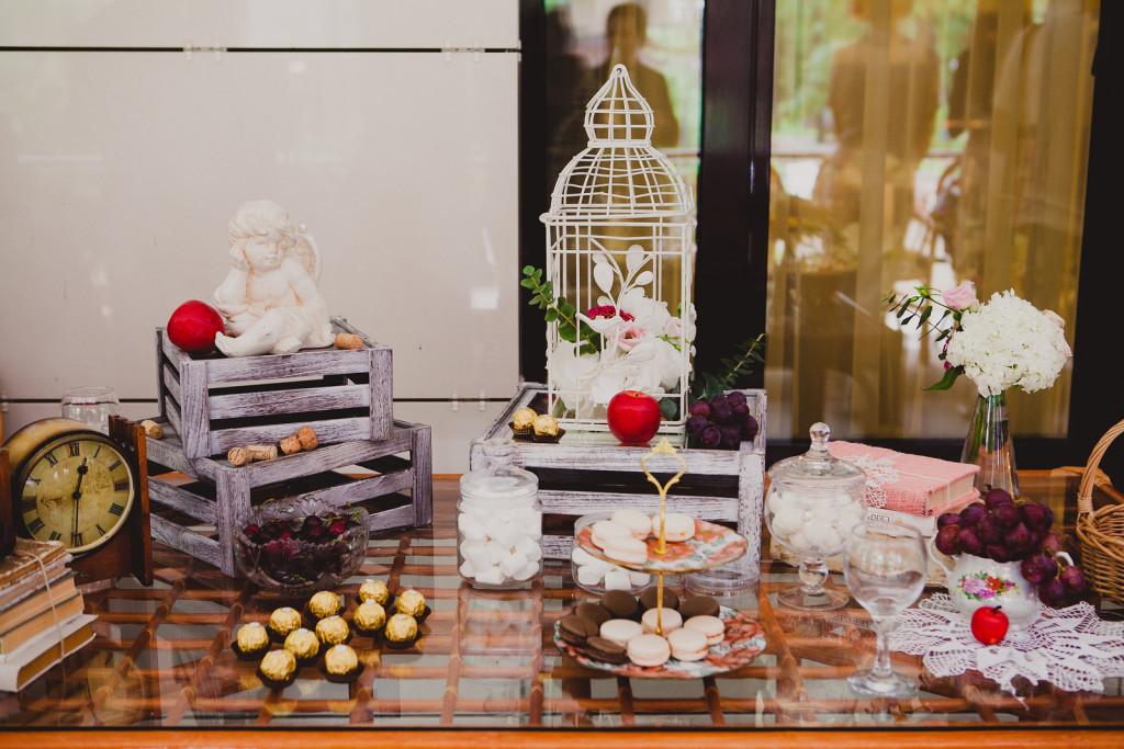 joli buffet de mariage fait maison