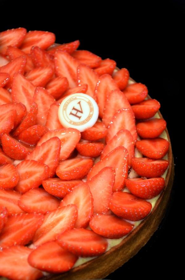 Tarte aux fraises Crédit Photo : © Géraldine Martens