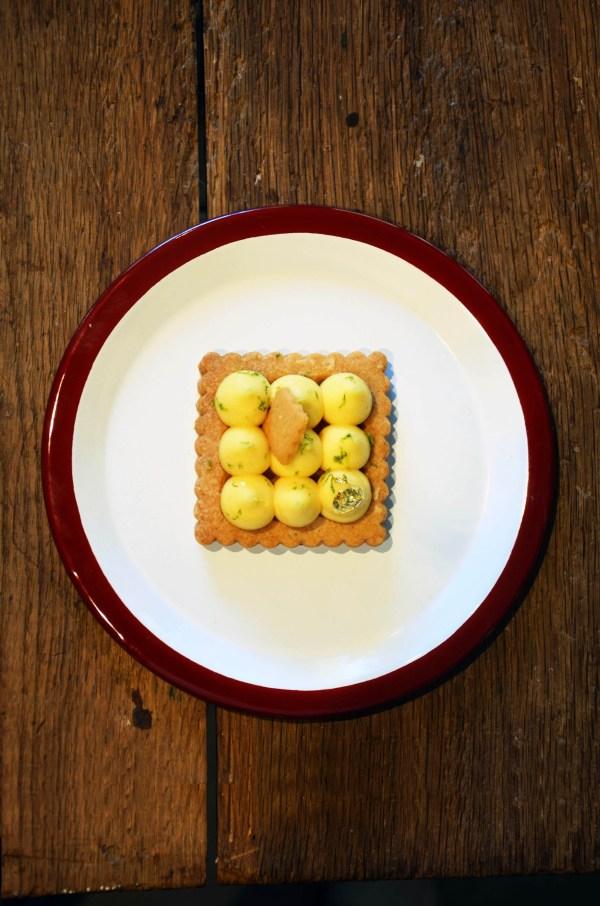 tarte citron carré