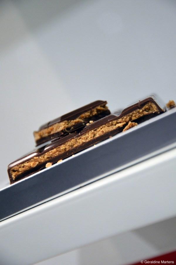 tablette chocolat praliné