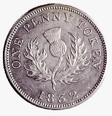 un penny angleterre