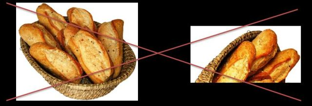 Suprimer le pain