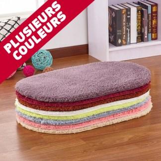 tapis de bain antiderapant doux memoir de forme
