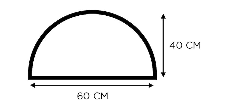 tapis de bain demi cercle