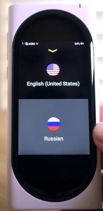 choisir langue de traduction min