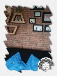 Création mur de brique