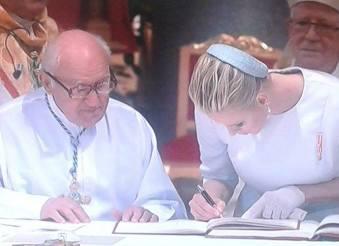 Il battesimo dei principi Jacques e Gabriella nella Cattedrale di Monaco