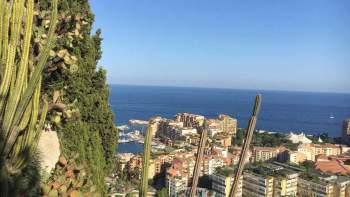 La vista di Monaco dal Jardin Exotique, foto©arvalens2017