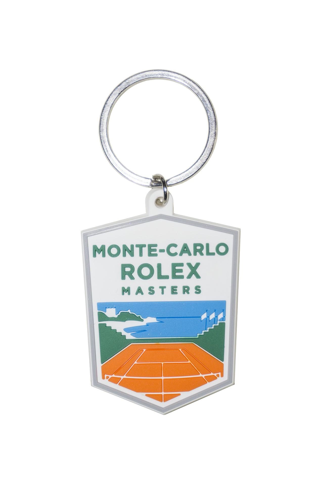 monte carlo rolex master porta chiavePorte-clé logo sillicone Masters