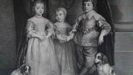 Cani a corte: I figli di Carlo I con i loro cuccioli nello splendido ritratto di Van Dyck