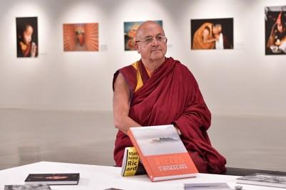 Himalaya Esposizione Monaco Buddista Matthieu Ricard