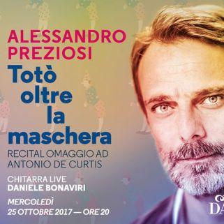 MoAlessandro Preziosi porta in scena a Monte Carlo Totò Oltre La Maschera