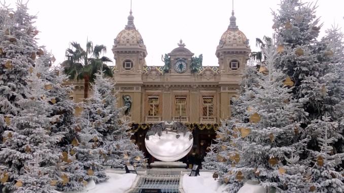 15 immagini del 2017 - Natale a Monte Carlo: la Piazza del Casinò Ft.©GMD