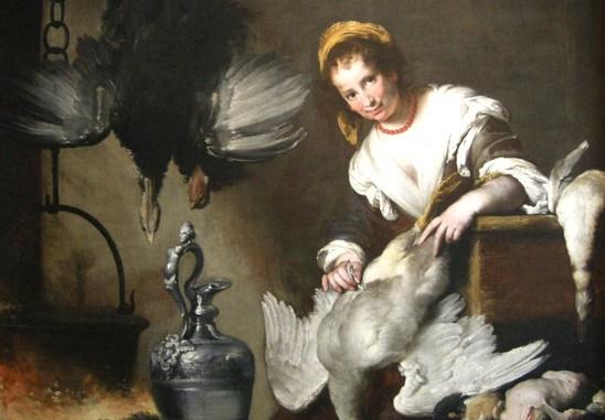 Genova Palazzo Rosso: la cuoca di Bernardo Strozzi detto il Cappuccino (Genova, 1581/1582 - Venezia, 1644)