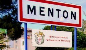 La Targa dei Siti Storici Grimaldi di Monaco a Mentone