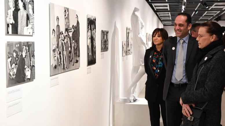 La Principessa Stéphanie inaugura la mostra sui 70 anni della Croce Rossa Monegasca Ft.©Dir.De La Communication/ Manuel Vitali