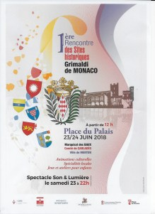 A Monaco il Primo degli Incontri dei Siti Storici Grimaldi