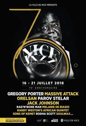 Mauro Maugliani, suo il disegno selezionato per la locandina del 70° Nice Jazz Festival 2018