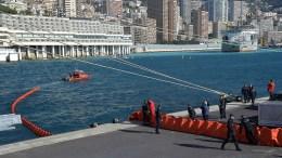 Urbanizzazione in mare a Montecarlo: esercitazione antinquinamento