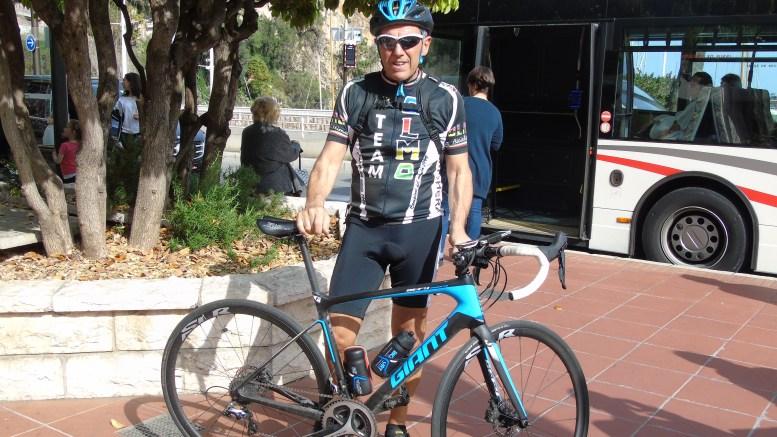 Roberto Lacchin: al Lavoro in Bicicletta da Camporosso a Monaco