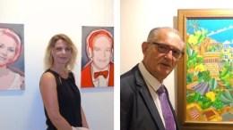 Professionisti ed Esordienti in Mostra al Forum degli Artisti di Monaco