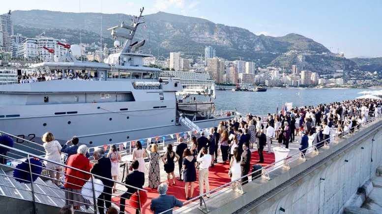 Celebrazione della Festa Nazionale Francese nel Principato di Monaco