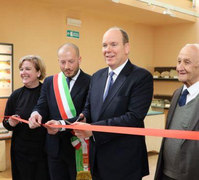 Ventimiglia, 8 marzo 2018, inaugurazione del nuovo allestimento del Museo dei Balzi Rossi, Ft. per Concessione del Polo Museale Della Liguria