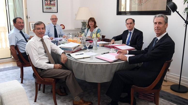 Primo Consiglio del Governo di Monaco Dopo la Pausa Estiva