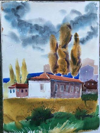Helidon Haliti paesaggio albanese