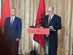 Principe Alberto A Tirana Albania Discorso