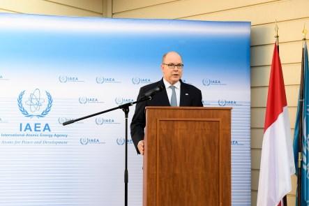Monaco: 20 Anni dell'Installazione dei Laboratori AIEA nella Sede di Port Hercule