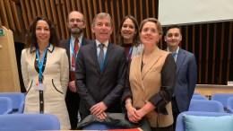 Monaco alla 1a Conferenza Mondiale dell'OMS su inquinamento atmosferico e salute