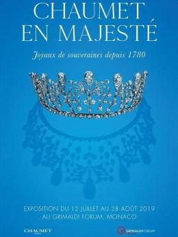 Diademi di Regine e Principesse Creati da Chaumet in Mostra a Monte Carlo