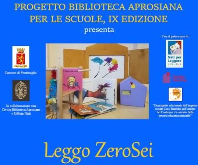 Leggere da Zero a Sei Anni - Incontro di Formazione a Ventimiglia