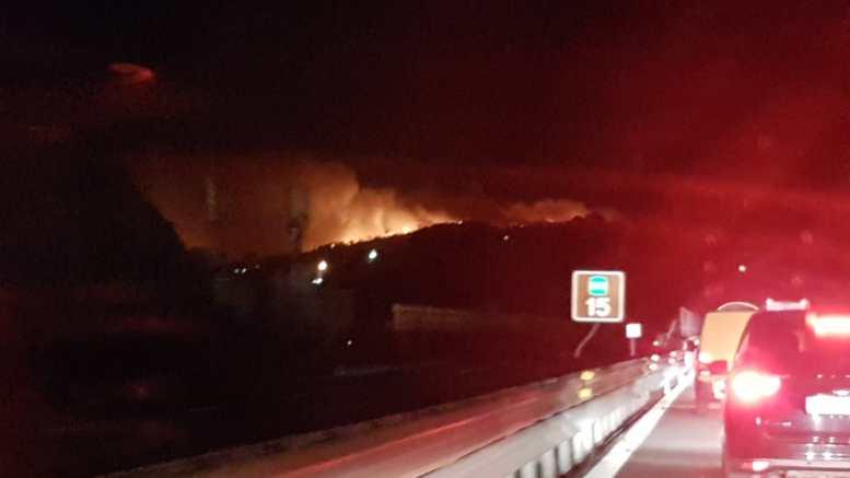 Liguria – Protezione Civile: Vietato Accendere Fuochi, Stato di Grave Pericolosità Incendi Boschivi