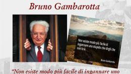 Bruno Gambarotta a Ventimiglia per La Stampa al Museo