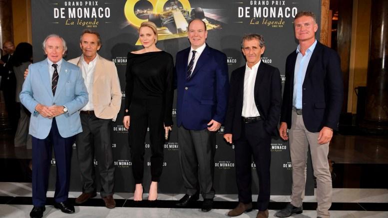 """I Principi Alberto e Charlene all'Anteprima del Documentario: """"Gran Premio di Monaco La Leggenda"""""""