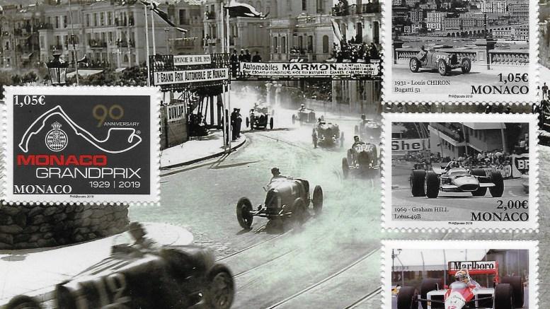 I Francobolli più Belli del Principato: 90 Anni del Grand Prix di Monaco