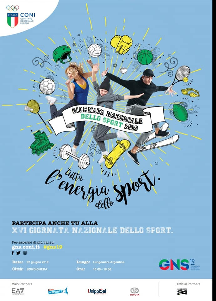 Bordighera: XVI Giornata Nazionale dello Sport
