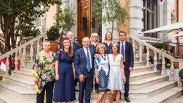 L'Anniversario della Salita al Trono del Principe Alberto Celebrato nell'Ambasciata di Monaco in Italia