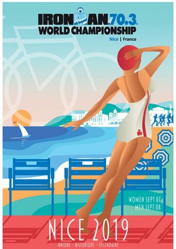 Campionato del Mondo IRONMAN 70.3 sulla Promenade di Nizza