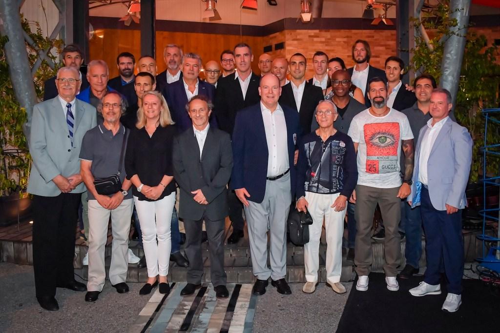 Il Principe Alberto, ex Olimpionico di Bob, al Barbecue dell'Associazione Monegasca degli Atleti Olimpici (le foto)