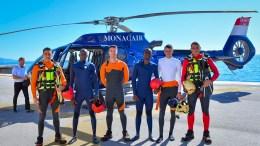 Salvataggio in Acqua: Monaco Addestra Due Vigili del Fuoco del Mali