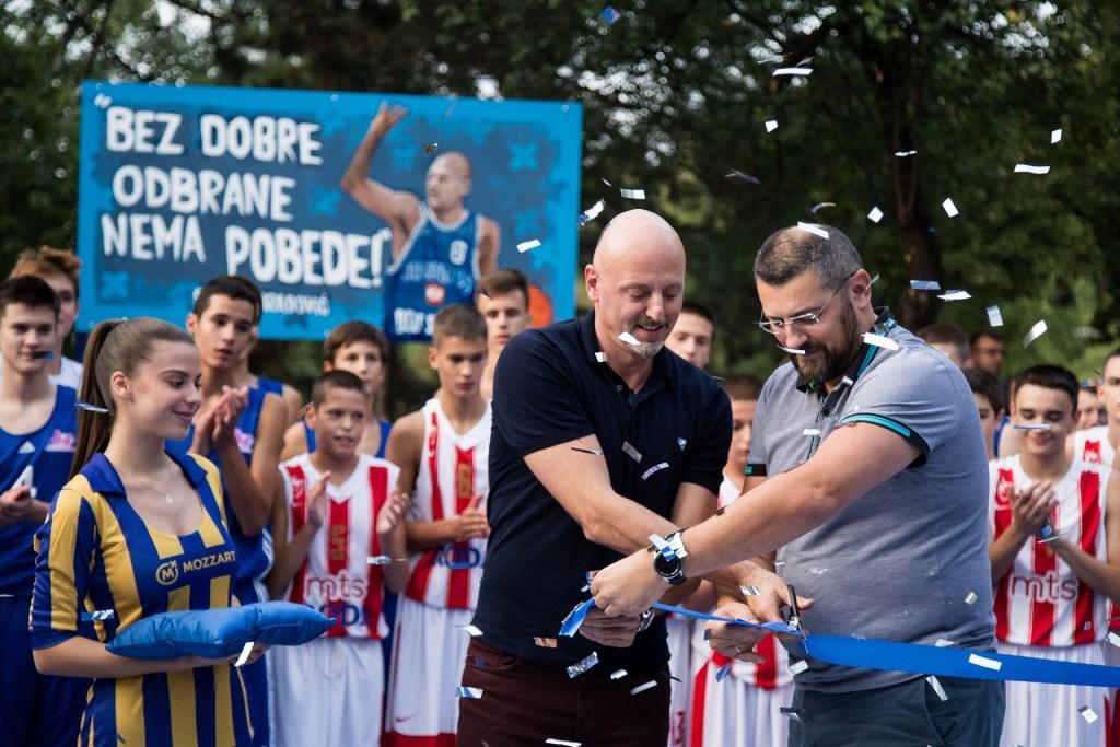 Belgrado: Inaugurato un Campo Sportivo Dedicato a Sasa Obradovic, Allenatore del Monaco Basket